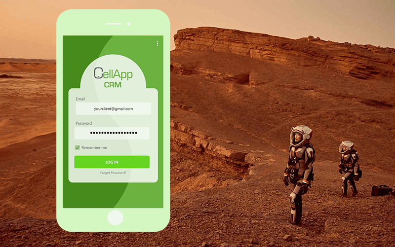 CellApp CRM Banner