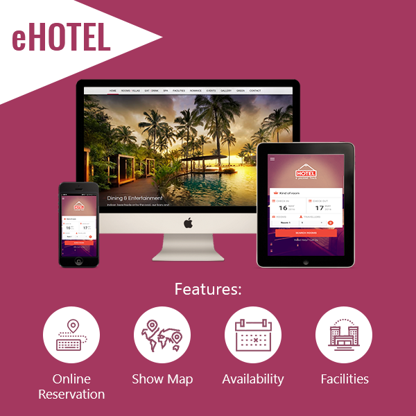 eHOTEL - Mobile Apps for Hotel 1