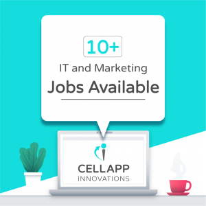 cellapp vacancy - banner