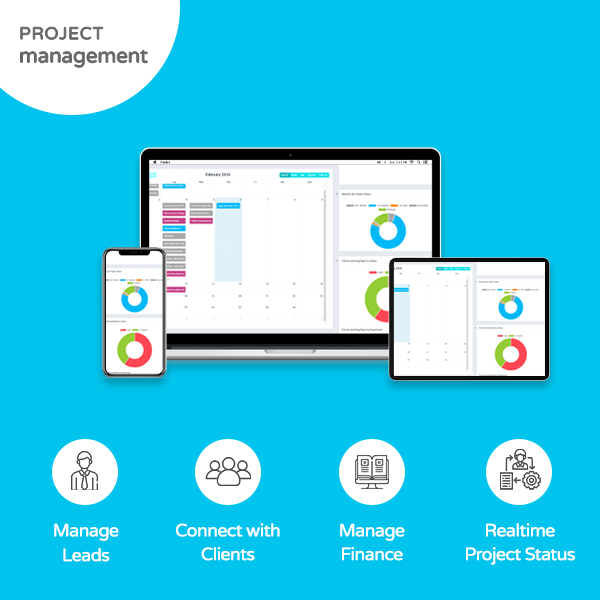 Project Management Features banner