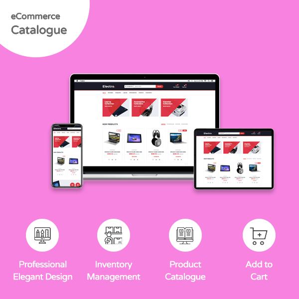 E-Commerce Catalog Website - Banner