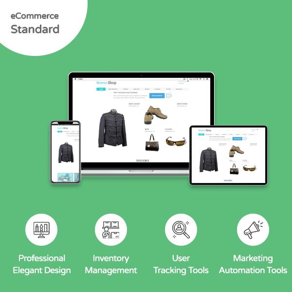 E-commerce Standard Website