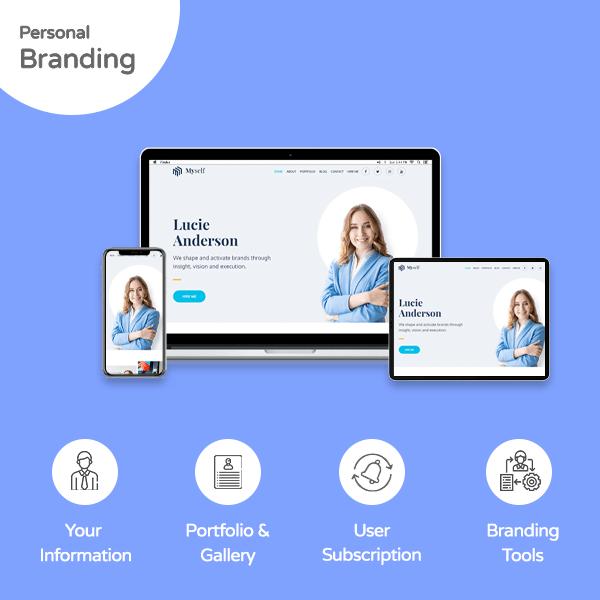 Personal Branding Website - Banner