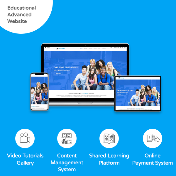 Advanced Educational Website