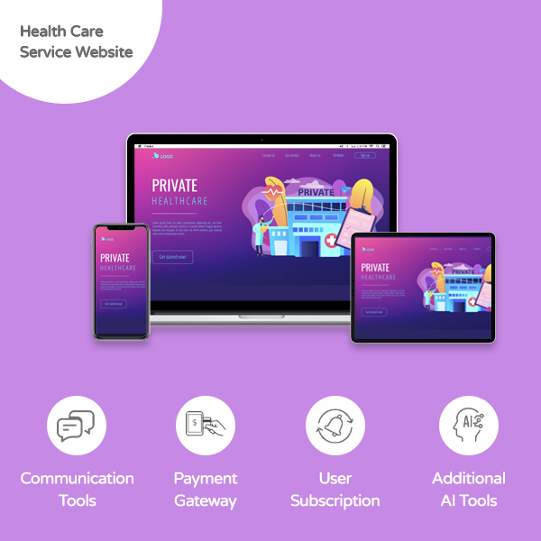 Health Care Service Website - Banner