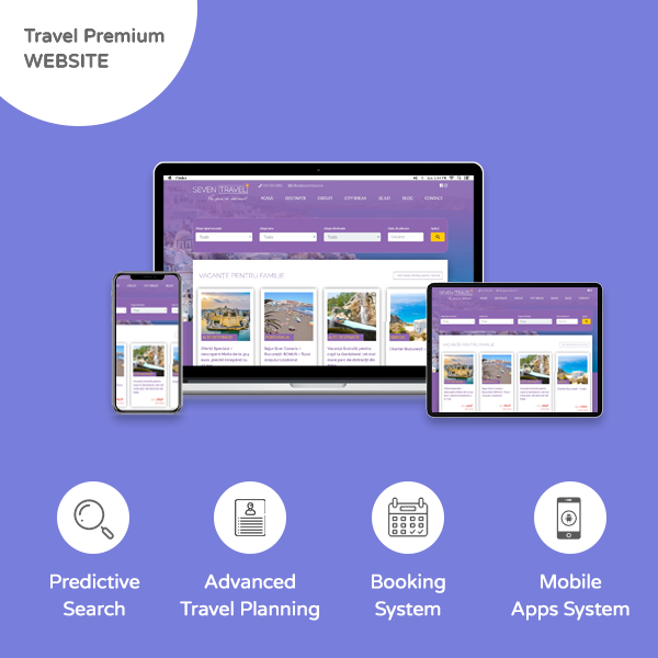 Travel Website Premium