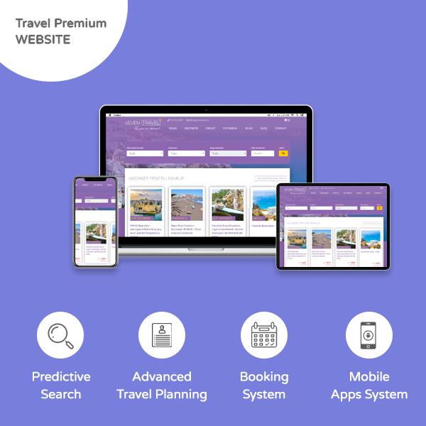Travel Premium Website - Banner