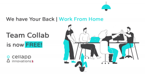 Team Collab Covid-19 Free Plan Banner