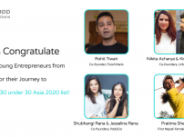 Congratulations to the Forbes Nepalese young entrepreneurs