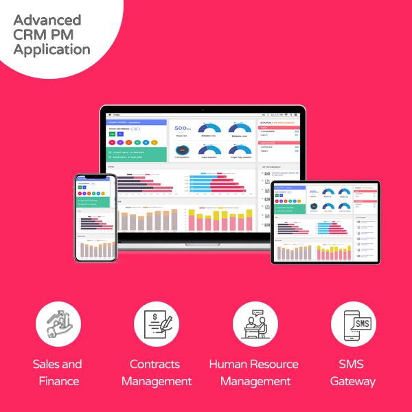 Advanced CRM/PM Application