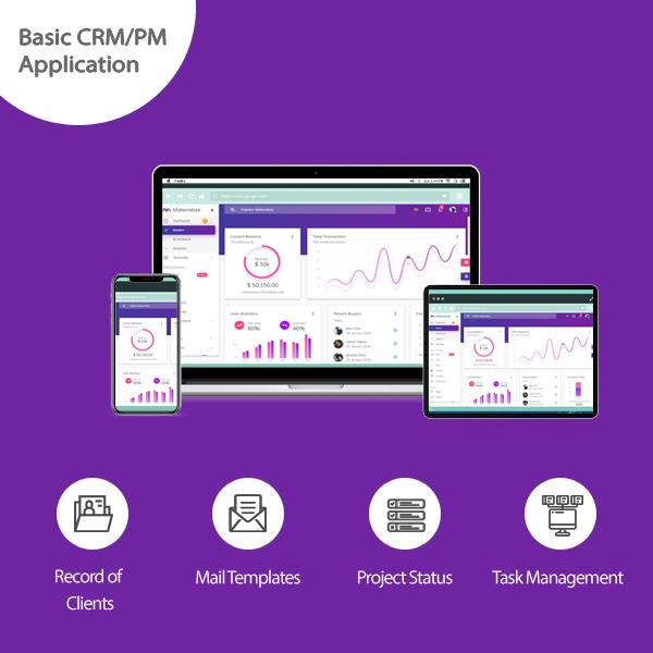 Basic CRM/PM Application