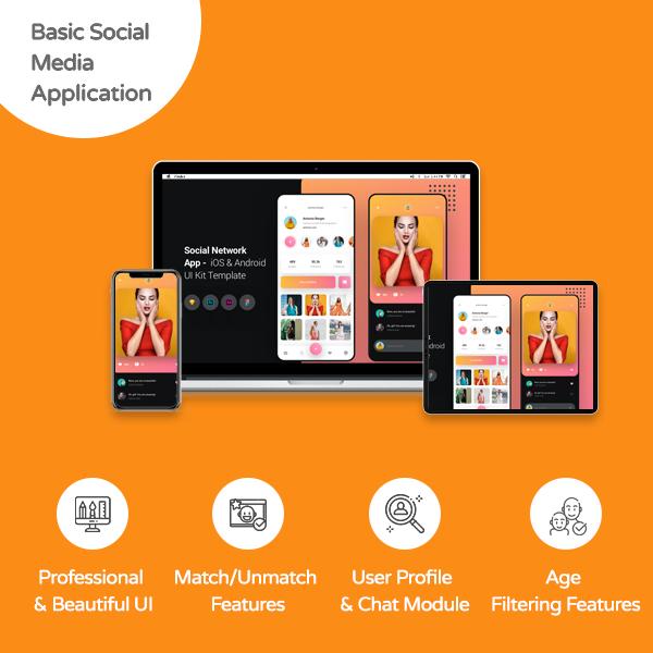 Simple Social Media Application