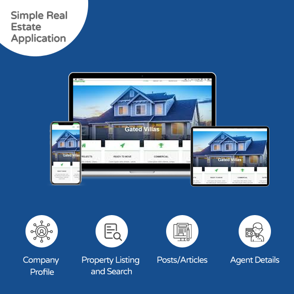 simple real estate application