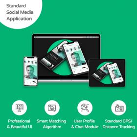 standard social media application